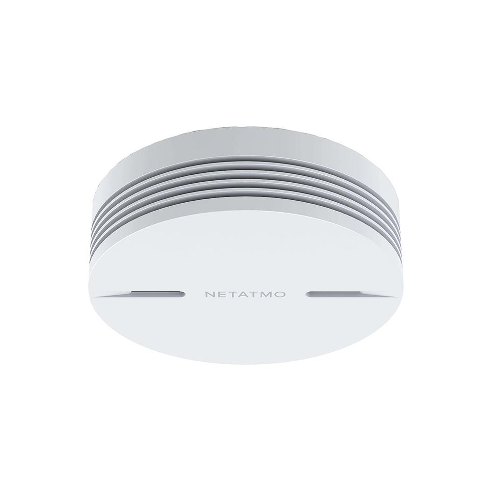 Senzor de fum Netatmo, Wireless, Volum 85 dB, Notificari aplicatie, Functionare fara Hub imagine case-smart.ro 2021