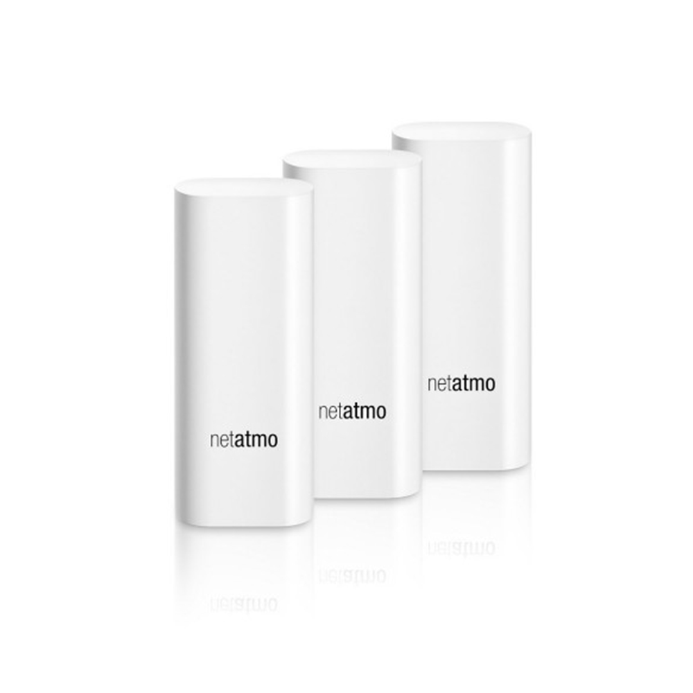 Pachet 3 senzori de miscare Netatmo Tags, Pentru exterior & interior, Wireless, Compatibil cu Netatmo Welcome imagine case-smart.ro 2021
