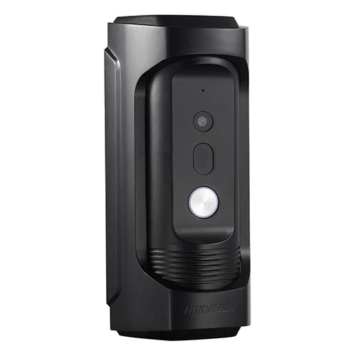 Panou exterior videointerfon HIKVISION DS-KB8112-IM, Rezoltutie camera 720p, Distanta IR 5 m, Consum 12 W imagine case-smart.ro 2021