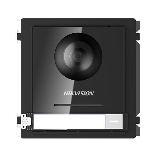 Modul master pentru interfonie modulara HIKVISION DS-KD8003-IME1, Camera FishEye 2MP, Buton apel, Buton acces imagine case-smart.ro 2021