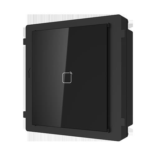 Modul extensie cititor de carduri HikVision DS-KD-M, Pentru interfon modular, Mifare 13.56 MHz imagine case-smart.ro 2021