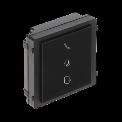 Modul extensie / indicator HikVision DS-KD-IN, Pentru interfon modular, Embedded Linux, Apelare, Usa deschisa, Convorbire