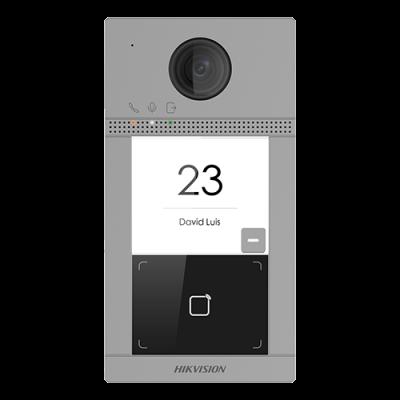 Panou exterior videointerfon DS-KV8113-WME1, Control acces integrat, Distanta IR 3 metri, Camera 2 MP, Rezolutie 1080P