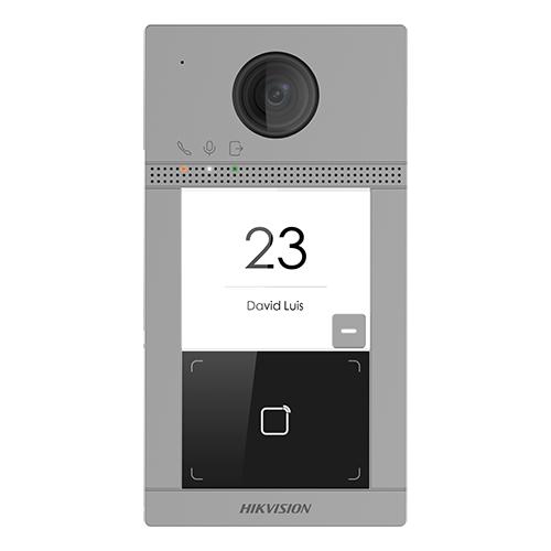 Panou exterior videointerfon DS-KV8113-WME1, Control acces integrat, Distanta IR 3 metri, Camera 2 MP, Rezolutie 1080P imagine case-smart.ro 2021