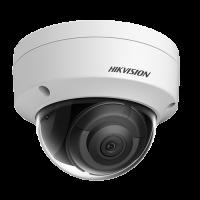 Camera de supraveghere IP HikVision AcuSense, Rezolutie 4.0 MP, Lentila 2.8 mm, Distanta IR 30 m, Unghi de vizualizare 103°, Algoritm Deep Learning