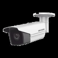 Camera de supraveghere HikVision IP AcuSense, Rezolutie 4.0 MP, Lentila 4 mm, Distanta IR 80 m, Functie Deep Learning, Slot microSD